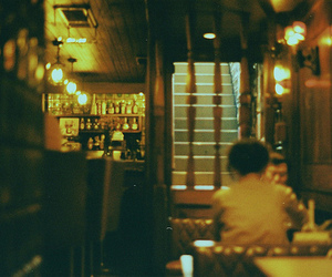 35mm, takumar, and cafe image