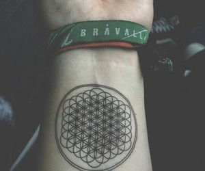 bmth, metal, and music image