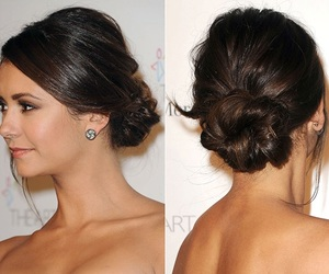 bun, hair, and Prom image