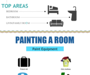 paint color ideas, painting ideas, and bedroom colors image