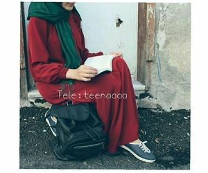 hijab, hijab style, and محجبات image