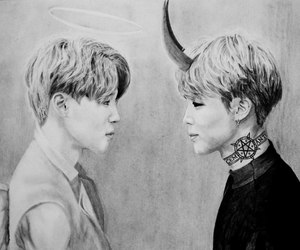 art, bts, and park jimin image