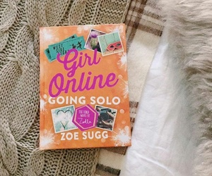 book, girl, and zoella image