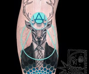dope, geometric, and tattoo image
