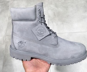 grey, shoes, and timberland image