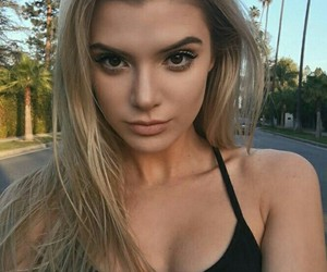 girl, alissa violet, and hair image