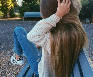 hair, picture, and autumn image