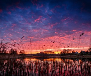 colorful, nature, and sky image