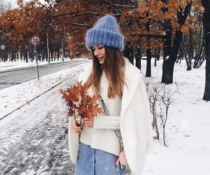 winter, fall, and fashion image