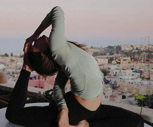 stretch and yoga image