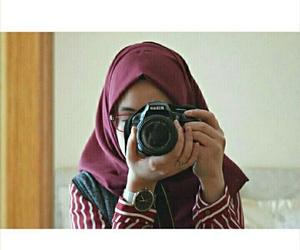 beauty, camera, and girls image