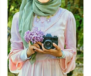beauty, camera, and حجاب image