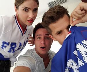 funny, teen wolf, and ryan kelley image