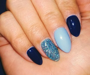 blue, nails, and special image