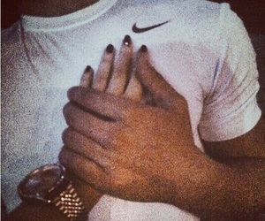 couple, love, and nike image