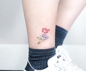 tattoo, disney, and la sirenita image