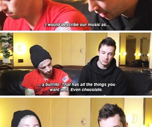 twenty one pilots, tøp, and funny image