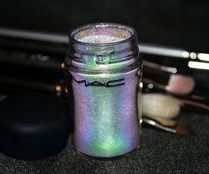 mac, glitter, and makeup image