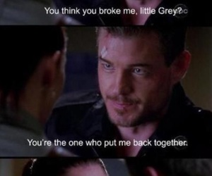 grey's anatomy, lexie, and mark sloan image