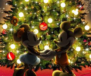 christmas, disney, and wallpaper image