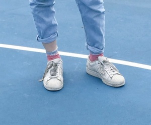 blue, shoes, and aesthetic image