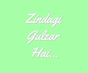 love, zindagi gulzar hai, and couple image