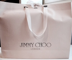 Jimmy Choo, bag, and luxury image
