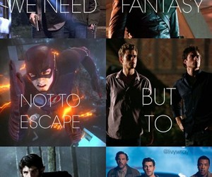 arrow, teen wolf, and supernatural image