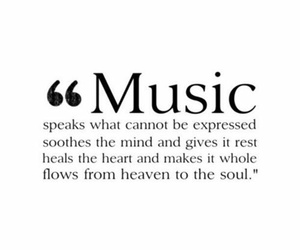 music, quote, and life image