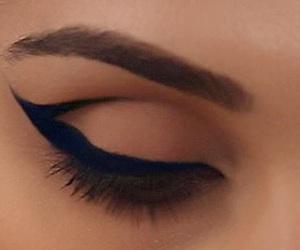 beauty, eye shadow, and eyes image