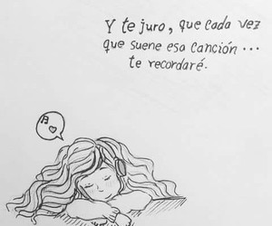 frases, amor, and cancion image