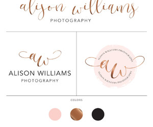 etsy, wedding photography, and photography logo image