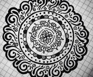 art, creation, and mandalas image