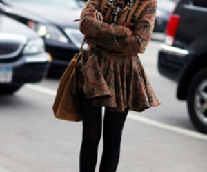brown, brunette, and coat image