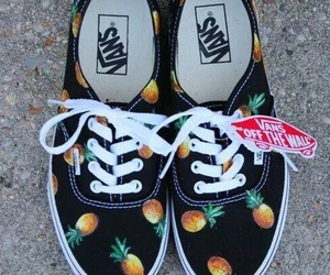 black, colors, and pineapple image