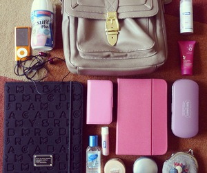 apple, blackberry, and purse image