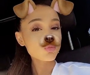 arianagrande, snapchat, and moonlightbae image