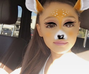 arianagrande, moonlightbae, and snapchat image