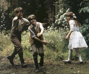 child, The Secret Garden, and secret garden image