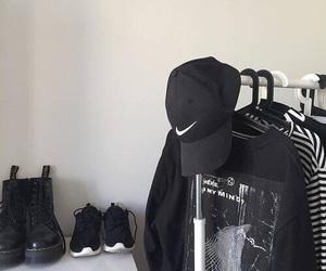 fashion, black, and alternative image