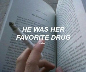drugs, quotes, and book image