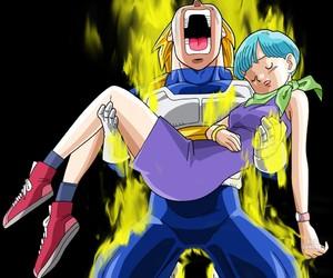 anime, couples, and dragon ball z image