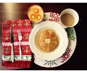 aesthetic, coffee, and pancakes image