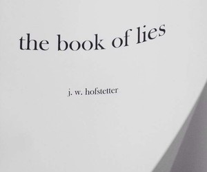book and lies image