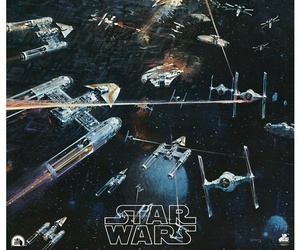 star wars and space image