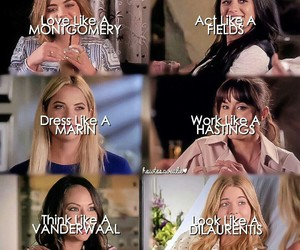 girls, names, and pll image