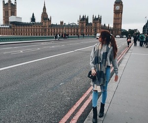 london, fashion, and travel image