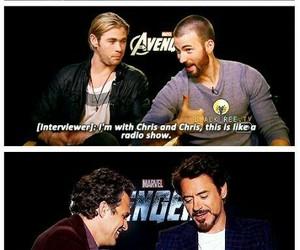 Marvel, chris hemsworth, and Avengers image
