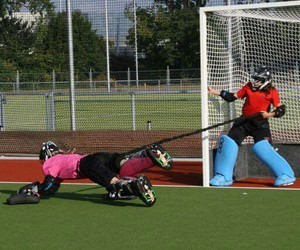 sport, keeper, and train image