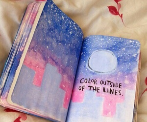 book, art, and quotes image